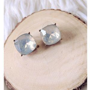 Nwt Unicorn rhinestone iridescent earrings